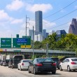 Houston Fwy traffic 10 Interstate in Texas US — Stock Photo #57777543