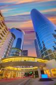 Houston Śródmieście zachód wieżowce Texas — Zdjęcie stockowe