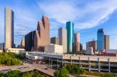 Houston Skyline North view in Texas US — Stock Photo