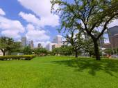 Houston skyline cityscape in Texas US — Stock Photo