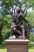 Central Park Robert Burns Manhattan New York — Stock Photo