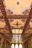 Central Park Bethesda Terrace underpass arcades — Stock Photo