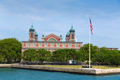 Ellis Island Immigration Museum Jersey city NY — Stock Photo