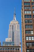 Empire State Building in Manhattan New York City — Stock Photo