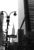 Manhattan 8. Av New York city nás — Stock fotografie