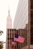 Manhattan Av 8 New York city noi — Foto Stock