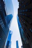 Freedom Tower Manhattan skyscrapers New York — Stock Photo
