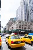 New York city Manhattan Fifth Avenue 5th Av US — Stock Photo
