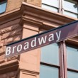 Broadway Street sign Manhattan Soho New York — Stock Photo #62366569