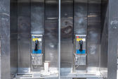 Typical payphone in new york city  — Stock Photo