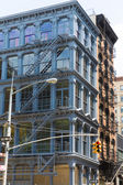 Soho building facades in Manhattan New York City — ストック写真