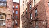 Soho building facades in Manhattan New York City — Stock Photo