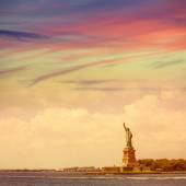 Statue of Liberty New York American Symbol US — Stock Photo