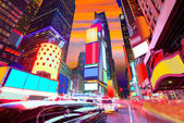 Times Square Manhattan New York verwijderd advertenties — Stockfoto