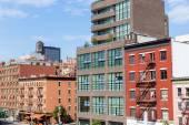 High Line Park views Manhattan New York US — Stock Photo