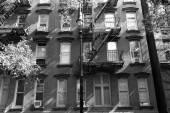 West Village in New York Manhattan buildings — Stock Photo