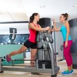 Gym glute exercise machine woman workout — Stock Photo #63930325