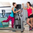 Gym glute exercise machine woman workout — Stock Photo #63930643