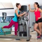 Gym glute exercise machine woman workout — Stock Photo #63930643