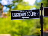 Arlington National Cemetery Unknown soldier — Stock Photo