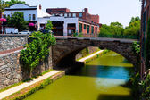 Chesapeake and Ohio Canal National Park DC — Stock Photo