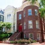 Georgetown historical townhouses Washington DC — Stock Photo #65856821