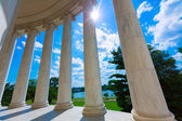 Monumento a thomas jefferson en washington dc — Foto de Stock
