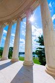 Thomas Jefferson memorial in Washington DC — Stock Photo
