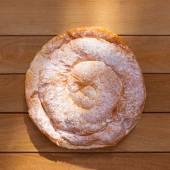 Ensaimada typical from Mallorca Majorca bakery — Stock Photo