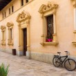 Alcudia Old Town city town hall Majorca Mallorca — Stock Photo #67393533