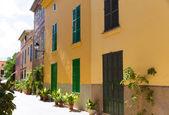 Alcudia Old Town in Majorca Mallorca Balearic — Zdjęcie stockowe
