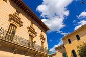 Alcudia Old Town in Majorca Mallorca Balearic — Stock Photo
