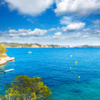 Majorca Cala Fornells beach Paguera Peguera — Stock Photo #67432661