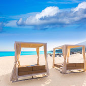 Majorca Cala Mesquida beach in Mallorca Balearic — Stock Photo