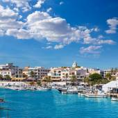Majorca Cala Ratjada Rajada in Capdepera Mallorca — Stock Photo