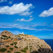 Majorca Formentor Cape Lighthouse in Mallorca — Foto de Stock