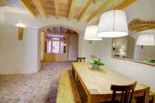 Majorca Balearic indoor house in Balearic Mediterranean style — Stock Photo