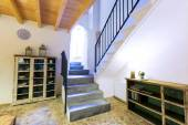 Majorca Balearic indoor house in Balearic Mediterranean style — Stock Photo