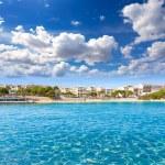 Majorca Porto Cristo beach in Manacor at Mallorca — Stock Photo #67488923