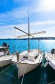 Majorca Porto Colom Felanitx port in mallorca — Stock Photo