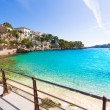 Majorca Porto Cristo beach in Manacor at Mallorca — Stock Photo #67493347