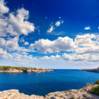Majorca Porto Cristo beach in Manacor at Mallorca — Stock Photo #67494143