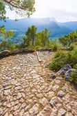 Majorca Puig de Maria Pollenca Pollensa in Mallorca — Stock Photo