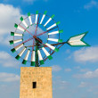 Mallorca Majorca windmill Campos Balearic Island — Stock Photo #67503779