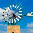 Mallorca Majorca windmill Campos Balearic Island — Stock Photo #67503809