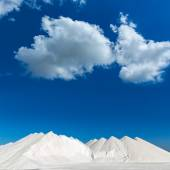 Mallorca Ses Salines Es Trenc Estrenc saltworks — Foto de Stock