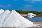 Mallorca Ses Salines Es Trenc hochfrequentierten Saline — Stockfoto