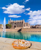 Majorca Palma Cathedral Seu Seo of Mallorca — Stock Photo