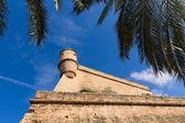 パルマ ・ デ ・ マリョルカでマヨルカ島 Es Baluard ファサード — ストック写真
