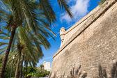 Majorca Es Baluard facade in Palma de Mallorca — Stock Photo